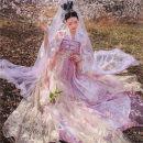Hanfu 96% and above Spring 2020 Flying flower order - shangru (pre sale) wulingchun - ruskirt (pre sale) flying flower order - shangru (spot) wulingchun - ruskirt (spot) XS S M L polyester fiber