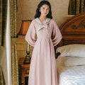 Dress Autumn 2020 Grey blue and soft pink S M L longuette singleton  Long sleeves Sweet Admiral High waist Solid color zipper A-line skirt puff sleeve Others 18-24 years old Shurui bow S2008023 More than 95% other other Other 100% college Same model in shopping mall (sold online and offline)