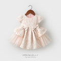 Dress Light pink light green female Dreamjelly 66cm 73cm 80cm 90cm 100cm Polyester 100% No season princess Short sleeve other polyester fiber Irregular Class A Spring 2020 3 months 12 months 6 months 9 months 18 months 2 years 3 years old