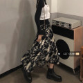 skirt Spring 2021 S,M,L Picture color longuette commute High waist A-line skirt Type A 18-24 years old 30% and below other Other / other other