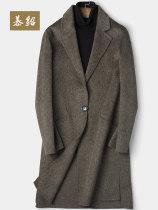woolen coat Army green L/170 Fashion City Moose M18C0508 Wool 90% Alpaca 10% Woolen cloth Autumn of 2018 Pure e-commerce (online only)