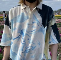Polo shirt Other / other Youth fashion routine milky white S,M,L standard Travel? Four seasons Short sleeve routine 2020 Solid color