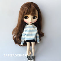 Doll / accessories parts 3 years old, 4 years old, 5 years old, 6 years old, 7 years old, 8 years old, 9 years old, 10 years old, 11 years old, 13 years old, 14 years old and above Other / other China Other sizes Over 14 years old Striped denim shorts suit parts Fashion cloth other clothing