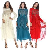 Wedding dress Summer of 2018 Red, green, beige M,L,XL 1207#