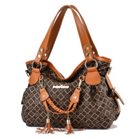Bag Inclined shoulder bag PU Fold package Tianyan brand new European and American fashion in leisure time soft zipper no Geometric pattern Double root One shoulder portable messenger nothing youth Horizontal square printing Soft handle polyester fiber inside pocket with a zipper soft surface