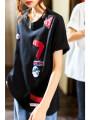 T-shirt White, black M,L,XL,2XL,3XL,4XL Summer 2021 Short sleeve Crew neck easy Regular routine commute cotton 71% (inclusive) - 85% (inclusive) 25-29 years old Korean version other Plain wood