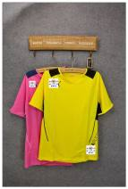 Sports T-shirt Other / other M,XL Short sleeve male Crew neck TPU17012 Pink, yellow easy Moisture absorption and perspiration, quick drying, super light, breathable, super elastic Brand logo, pattern, letter polyester fiber