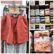 Sports pants / shorts female S,M,L,XL UNIQLO / UNIQLO shorts cotton cotton