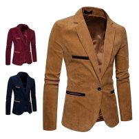 man 's suit Others Fashion City routine M,L,XL,2XL,3XL standard A single breasted button Other leisure No slits youth Long sleeves Four seasons Simplicity in Europe and America Green fruit collar Regular collar (collar width 7-9cm) 2018 Three dimensional bag