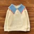 Sweater / sweater The future Beige female spring and autumn nothing college Socket routine No model Cotton blended fabric Solid color Cotton 65% other 35% Class B Cotton liner
