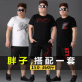 Leisure sports suit summer Short sleeve Other / other shorts Large size T-shirt cotton 2020