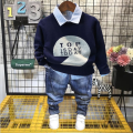 suit Other / other neutral spring and autumn Korean version Long sleeve + pants 3 pieces routine No model Socket nothing Cartoon animation cotton children Expression of love Class B Other 100% 18 months, 2 years old, 3 years old, 4 years old, 5 years old, 6 years old, 7 years old Chinese Mainland