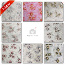 Fabric / fabric / handmade DIY fabric Netting Loose shear rice Plants and flowers printing and dyeing Other hand-made DIY fabrics Countryside Zhejiang Province Jinhua City Chinese Mainland