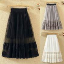 skirt Spring of 2018 Small version (recommended 80-120 kg), large version (recommended 120-150 kg) Gray, black, white, apricot