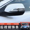 Body / window trim Tijl  CRV-075 Rear view mirror cover Support installation
