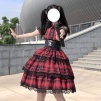 Dress Summer 2020 One size fits all, XXS pre-sale Two piece set Short sleeve Sweet Princess Dress Others 18-24 years old Lolita