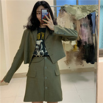 Fashion suit Spring 2020 S,M,L Small suit in stock, short skirt (in stock) Other / other