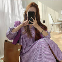 shirt Pink, purple, blue S,M,L,XL Summer 2020 other 31% (inclusive) - 50% (inclusive) Medium length shirt sleeve Straight cylinder Button, button