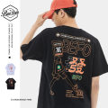 T-shirt other 2104 white, 2104 black routine M. L, XL, XXL BeeDee Short sleeve Crew neck easy Other leisure summer teenagers Off shoulder sleeve Basic public other 2021 Alphanumeric printing other Chinese culture other