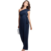 Dress Tenordan Black, Navy XS,S,M,L,XL,XXL,XXXL Europe and America Sleeveless have more cash than can be accounted for summer No collar Solid color modal  DR241