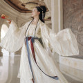 National costume / stage costume Summer of 2019 The inner layer of the coat, the outer layer of the coat, chiffon sling, 3M waist length skirt and large sleeve shirt are delivered after 48 hours S,M,L