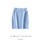 skirt Autumn 2020 S, M Sky blue, gray, black, white, pink purple Short skirt street 71% (inclusive) - 80% (inclusive) Europe and America