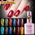 Nail color China no Normal specification Bole 010203040506070809101112 Coloration durability gloss easy to dry use effect comfort no residue Any skin type 3 years 7.3g Bole Glass Cat's eye glue Glass Cat's eye glue