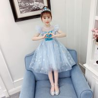 Dress Blue, pink female Other / other 110cm,120cm,130cm,140cm,150cm,160cm Other 100% summer Short sleeve other A-line skirt AIDX210007 13 years old