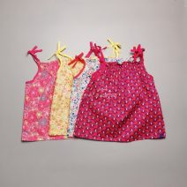 Vest sling White, yellow, watermelon red, rose red camisole 4Y(105CM),5Y-6Y,7Y-8Y,9Y-10Y other Cotton 100% Four, five, six, seven, eight, nine, ten