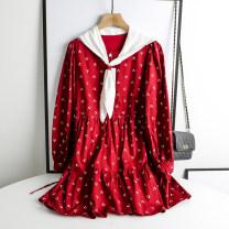 Dress Spring 2021 Blue, red S,M,L ymhy