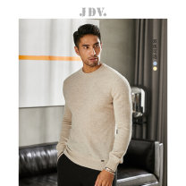 T-shirt / sweater J.D.V Fashion City Blue Beige 170/88A/S 175/92A/M 180/96A/L 180/100A/XL 185/104A/XXL Socket Crew neck Long sleeves WOT9351 autumn Slim fit Wool 68.3% Cashmere 31.7% leisure time youth routine Solid color Autumn of 2019 Same model in shopping mall (sold online and offline)