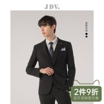 man 's suit J.D.V Business gentleman routine 165/XS 170/S 175/M 180/L 180/XL 185/XXL Polyester fiber 65.2% viscose fiber (viscose fiber) 32.5% polyurethane elastic fiber (spandex) 2.3% Fall 2017 Self cultivation A single breasted button go to work Back middle slit Pure e-commerce (online only) youth