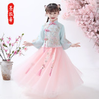 Tang costume 80 90 100 110 120 130 140 150 160 Polyester 100% female No season There are models in the real shooting routine Saint Latisse Spring 2020