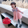 Dress female Tongsen Tongma 90cm 100cm 110cm 120cm 130cm 140cm Other 100% spring and autumn leisure time Long sleeves other other other Class B Spring 2021 18 months, 2 years old, 3 years old, 4 years old, 5 years old, 6 years old, 7 years old, 8 years old