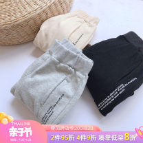 trousers Tongsen Tongma female 90cm 100cm 110cm 120cm 130cm 140cm spring and autumn trousers leisure time There are models in the real shooting Casual pants Leather belt middle-waisted other Don't open the crotch Other 100% Class B Autumn 2020