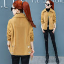 short coat Autumn 2020 S M L XL 2XL 3XL Khaki turmeric Beige Long sleeves routine routine singleton  Straight cylinder commute routine other Single breasted Solid color 30-34 years old Yilianba 96% and above Button WEL7729* polyester fiber polyester fiber Polyester 100% Pure e-commerce (online only)