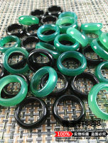 Other DIY accessories Other accessories Natural crystal / semi precious stone 10-19.99 yuan Green black agate