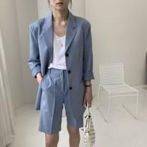 Professional pants suit Black, sky blue, khaki, ivory, beige S,M,L Summer 2021