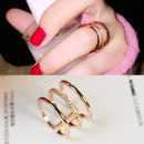 Ring / ring 10-19.99 element Japan and South Korea Alloy / silver plating / gilding Other/ other Brand new