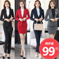 Professional dress suit Autumn of 2019 Long sleeves Other styles, coats, shirts Suit skirt