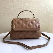 Bag The single shoulder bag Sheepskin other Other / other Black, camel brand new European and American fashion leisure time soft no Solid color Single root One shoulder cross carry Other / other