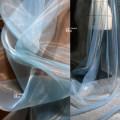 Fabric / fabric / handmade DIY fabric Netting wathet Loose shear piece clothing