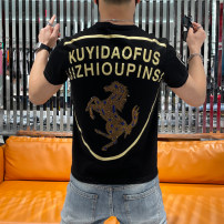 T-shirt Youth fashion White, black, red thin M,L,XL,2XL,3XL JSAS Short sleeve Crew neck Self cultivation Other leisure summer youth routine tide 2021 Animal design Printing and ironing washing Fashion brand