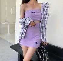 Fashion suit Spring 2021 Average size Black, pink, yellow, violet