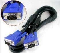 Connecting line Guanghongda VGA cable 1.5m 10m 15m 20m 3M 5m Milky blue Pure copper