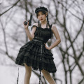 Dress Spring 2021 [bad J · twilight jsk] pre sale S,M,L with puji Q2511