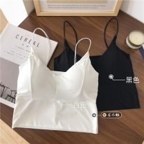 undergarment covering the chest and abdomen Summer 2021 Average size White, black singleton  have cash less than that is registered in the accounts commute Self cultivation 18-24 years old Solid color other 30% and below Simplicity