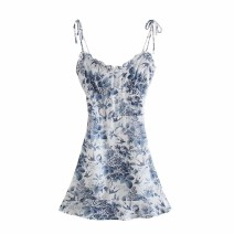 Dress Summer 2021 As shown in the figure S,M,L Short skirt singleton  street 18-24 years old 31% (inclusive) - 50% (inclusive) Europe and America