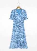 Dress Spring 2021 Blue, black S,M,L singleton  street 18-24 years old 31% (inclusive) - 50% (inclusive) Europe and America