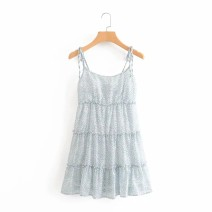 Dress Summer 2020 Light blue, pink S,M,L singleton  street 18-24 years old 31% (inclusive) - 50% (inclusive) Europe and America